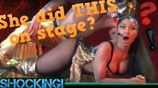 Anaconda - Nicki Minaj - Live Concert - Shocking!