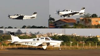 Beechcraft Bonanza G36 Takeoff | Beech Bonanza | Formosa-GO SWFR | PR-RJV | Air Brasilia Aviation