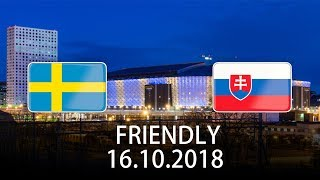 Sweden vs Slovakia - International Friendly - PES 2019