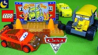 NEW LEGO Juniors Disney Cars 3 Toys Thunder Hollow Crazy 8 Race Miss Fritter Lightning McQueen Toys