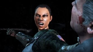Mortal Kombat X - Jacqui Briggs Klassic Ladder Walkthrough and Ending