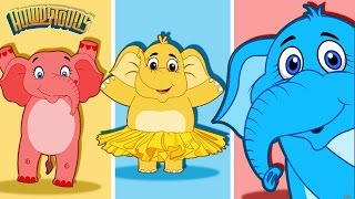 Elephants Have Wrinkles and More! | Nursery Rhymes and Kids Songs Collection by Howdytoons