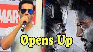 Varun Dhawan Opens Up On Chris Evans' Reaction On Captain America: Civil War Hindi Trailer!