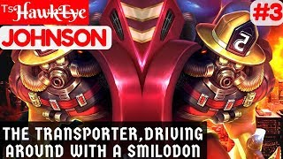The Transporter, Driving Around With a Smilodon [Rank 2 Johnson] | ᵀˢH̶awk̶E̶y̶e Johnson Gameplay #3