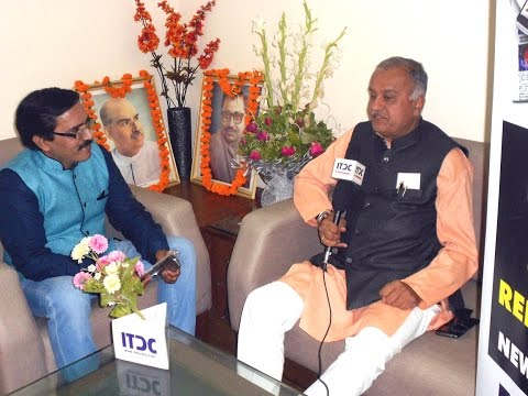 ITDC INDIA news tablet: State BJP President Nand Kumar Singh Chouhan Exclusive interview