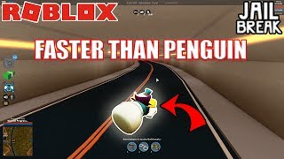 EVEN FASTER Crawling Glitch (FASTER THAN PENGUIN) | Roblox Jailbreak