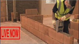 World Modern Technology Construction Building of USA, Creating Fastest Block Walls Best Ever #SON