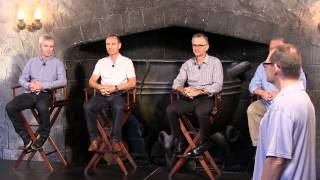 Diagon Alley discussion with Universal Creative team members