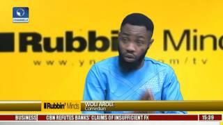 Rubbin Minds: Comedians Wole Arole & Chioma Odimba With Rib-Cracking Jokes Pt 1
