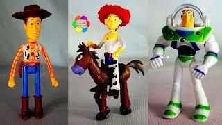باظ يطير شخصيات كارتون قصة لعبة المأمور وودى للبنات والاولاد العاب الاطفال toy story game set