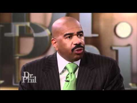 Steve Harvey Gives Dr  Phil Some Manswers
