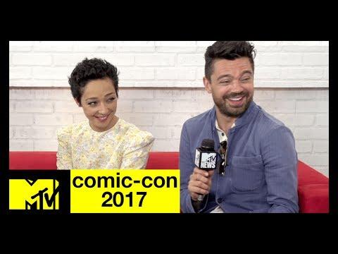 Xxx Mp4 Preacher Cast On Season 3 A Vaguely Sexual Handshake Comic Con 2017 MTV 3gp Sex