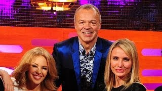 CAMERON DIAZ's & KYLIE MINOGUE's Worst Wax Figures - The Graham Norton Show on BBC America