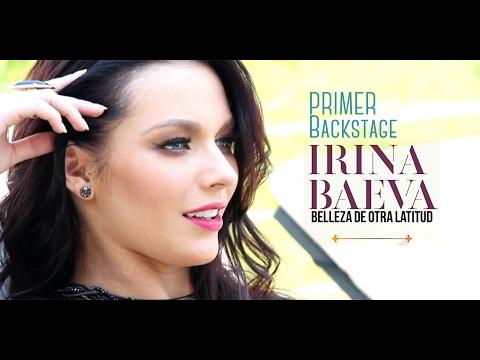 IRINA BAEVA PRIMER BACKSTAGE