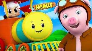 Rig A Jig Jig | Nursery Rhymes | Kids Songs | Children Rhymes