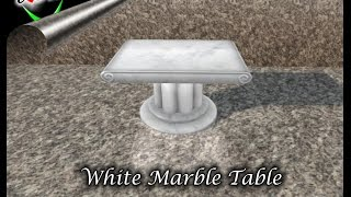 EDell Marble Table
