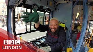 Is this London's friendliest bus driver? - BBC London