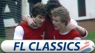 Arsenal 3 v Man Utd 1 | 1977/78 | Football League Classic Matches