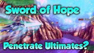 Can Sword of Hope Penetrate Ultimate's? When Attacks Clash! - Dragon Ball Xenoverse 2