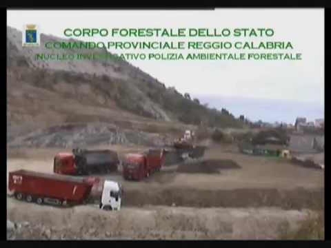 I rifiuti tossici dell'Enel in Calabria dalla Puglia - Operazione