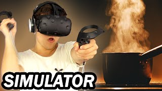 COOKING IN VR SIMULATOR!