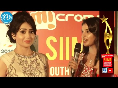 Shriya Saran's Attachmet with SIIMA Awards @ Malaysia 2014