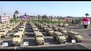 الجيش المصري يتسلم مجموعه جديدة من ناقلات الجنود المدرعه - 29/9/2016