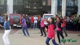 Flash mob at Club 7 Hotel Voyage Tiruvalla - MACFAST Tantra 2k13