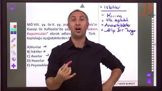 1) İslamiyet Öncesi Türk Tarihi - I - Yasin KORKUT (2018)