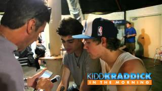 EXCLUSIVE Backstage One Direction Interview - Kidd Kraddick in the Morning