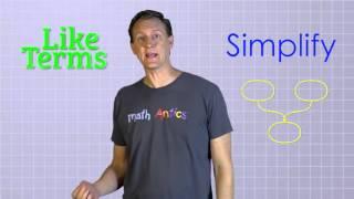 Algebra Basics  Simplifying Polynomials   Math Antics