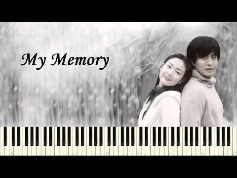 My Memory - Winter Sonata OST (Piano Tutorial)