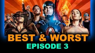 DC Legends of Tomorrow Episode 3 Review aka Reaction - Blood Ties - Beyond The Trailer