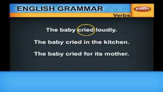 English Grammar Lessons: Introduction, Verbs, Tense and Aspect | Spoken English