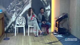 هايدي و علي يتمرنان على اغنية طيارة - ستار اكاديمي 11