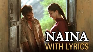 Naina Song With Lyrics | Omkara | Ajay Devgn, Saif Ali Khan, Vivek Oberoi & Kareena Kapoor