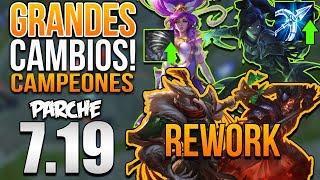 PARCHE 7.19 NUEVA R DE VAYNE & JANNA REWORK!! XIN ZHAO & AZIR REWORK! | Statik Gamer