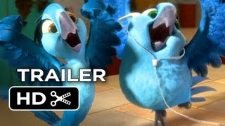 Rio 2 Official Trailer #1 (2014) - Jamie Foxx Animated Sequel HD