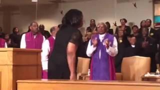 COOLJC Praise Break at Apostle Wesley Taylor Sr. Homegoing Celebration