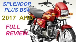 [2017] [Hindi] BS4 (AHO) REVIEW SPLENDOR PLUS  [ SP+]