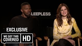 Exclusive Interview: Jamie Foxx and Michelle Monaghan Talk Sleepless [HD]
