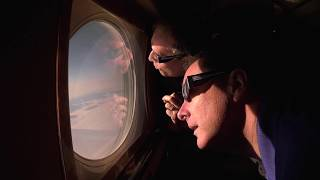 NASA's 2017 Solar Eclipse Coverage from 35,000 feet