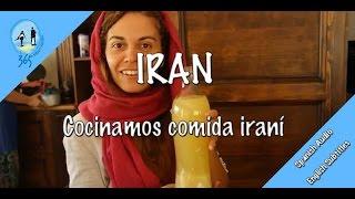 Iran, cocinamos comida irani | Cooking iranian food