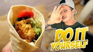 McDonalds Chicken Wrap Selbst Machen - Nur Besser!! (mit Tim)