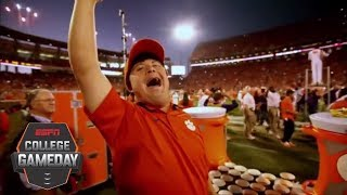 David Saville is the heart of Clemson Football | College GameDay | ESPN