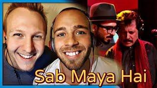 Attaullah Esakhelvi, Sanwal Esakhelvi Sab Maya Hai Coke Studio Season 10 Episode 5 | Reaction by RnJ