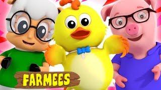 Ice Cream Song | Original Song With Farmees | Nursery Rhymes | Kids Rhymes.
