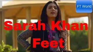 Pakistani Celebrate Sarah Khan Feet