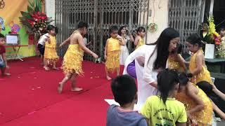 Múa trung thu trường mầm non Hoa Anh Đào 2018