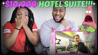 "Shane Dawson ""$10,000 HOTEL ROOM SUITE"" REACTION!!!"